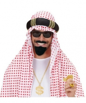 Feest arabische baard en snor