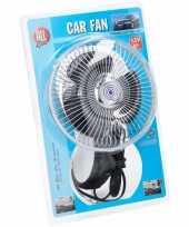 Feest auto ventilator 12v met zuignap