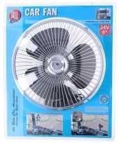 Feest auto ventilator met sterke zuignap 24v