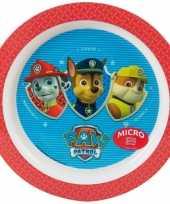 Feest babybordje paw patrol rood