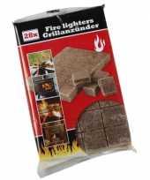 Feest barbecue accessoires aanmaakblokjes