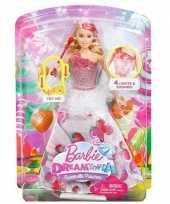 Feest barbie prinses pop met licht en geluid