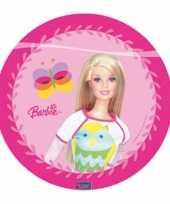 Feest barbie roze bordjes