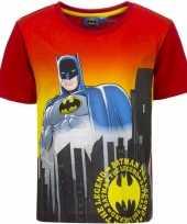 Feest batman t-shirt rode mouw