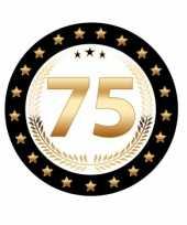 Feest bierviltjes 75 jaar rhodium jubileum