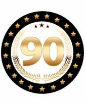 Feest bierviltjes 90 jarig jubileum
