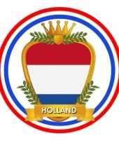 Feest bierviltjes in hollands wapen thema