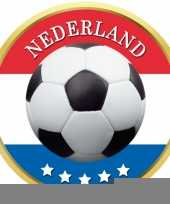 Feest bierviltjes voetbal in nederlands thema
