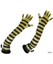 Feest bijen accessoires handschoenen