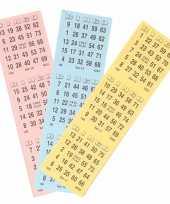 Feest bingo getallen vellen om te spelen