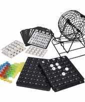 Feest bingo spel met molen 19 cm