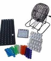Feest bingo spel met molen 29 cm