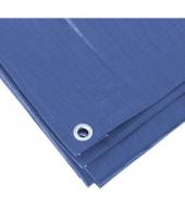 Feest blauw afdekzeil dekzeil 3 x 4 meter