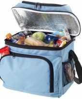 Feest blauwe grote koeltas 15 liter