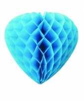 Feest blauwe hartjes decoratie