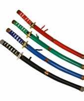 Feest blauwe ninja zwaarden