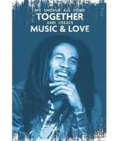 Feest bob marley muziek poster 61 x 91 cm
