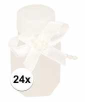 Feest bruiloft bellenblaas met strik 24x