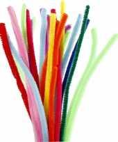Feest buigzaam chenilledraad kleuren 30 cm 200 st