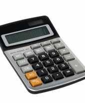 Feest bureau kantoor rekenmachine calculator op zonne energie
