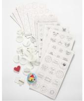 Feest buttons versieren pakket