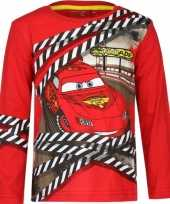 Feest cars lightning mcqueen t-shirt rood