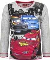 Feest cars t-shirt mc queen grijs
