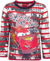 Feest cars t-shirt mc queen rood