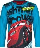 Feest cars t-shirt petrol blauw