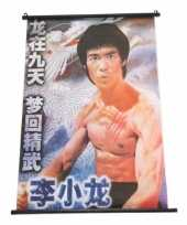 Feest chinese decoratie poster bruce lee