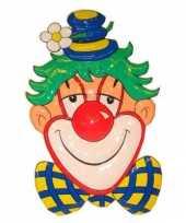 Feest clown decoratie