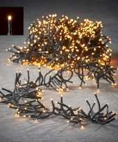Feest clusterverlichting 1152 warm witte lampjes 8 m