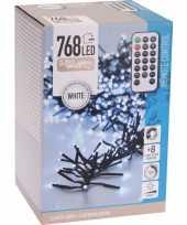 Feest clusterverlichting op afstandbediening helder buiten 768 lampjes
