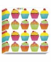 Feest cupcake party servetten 20 stuks