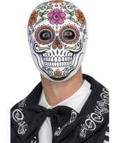 Feest day of the dead senor bones masker