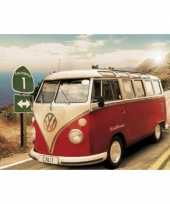 Feest decoratie poster vw campers californie