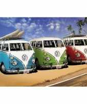 Feest decoratie poster vw campers