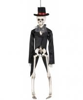 Feest decoratie skelet bruidegom 41 cm