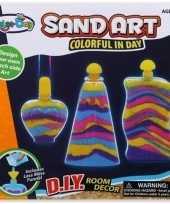 Feest decoratie speelzand set voor meisjes