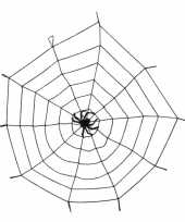 Feest decoratie spinnenweb 150 cm
