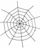 Feest decoratie spinnenweb groot 150 cm