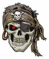 Feest decoratie tattoo piraat