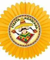 Feest decoratie waaier mexico