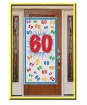 Feest deurposter 60 jaar 150 cm