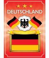 Feest deurposter bundesrepublik deutschland