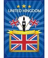 Feest deurposter groot brittannie