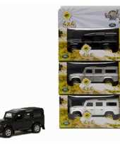 Feest diecast land rover autootje 20 cm 10072532