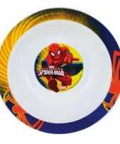 Feest diep bord spiderman 16 cm