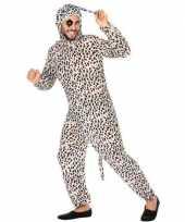 Feest dierenpak verkleed kostuum dalmatier hond voor volwassenen