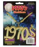 Feest disco seventies ketting 1970